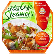 Healthy Choice Cafe Steamers $2 off (4) Healthy Choice Cafe Steamers Coupon