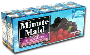 Minute Maid Juice Box 10 pk1 Minute Maid Juice Box 10 Count For $1.39 at Target