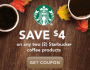 Starbucks Coffee Products Coupon