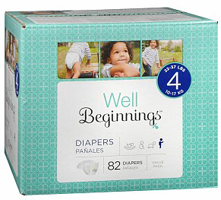 Well Beginnings Diapers $1.50 off One Box of Well Beginnings Diapers Coupon