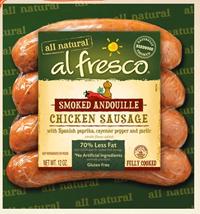 Al Fresco Product $2 off al Fresco Chicken Sausage Coupon