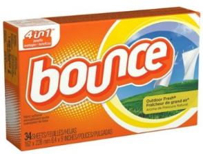Bounce Dryer Sheets 3 FREE Bounce Dryer Sheets at Target