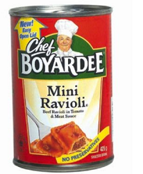 Chef Boyardee $1 off 5 Chef BoyarDee Canned Pasta or Microwaveable Cups Coupon