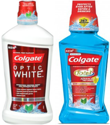 Colgate Total or Colgate Optic White Mouthwash $1 off ANY Colgate Total or Colgate Optic White Mouthwash Coupon