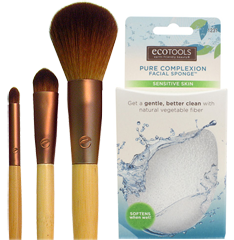 EcoTools $1 off  EcoTools Cosmetic Brush or Pure Complexion Sponge Coupons
