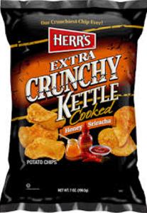 Herrs Extra Crunchy Kettle Pop Chips $.55 off Herr's Extra Crunchy Kettle Pop Chips Coupon