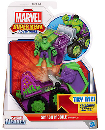 MARVEL SUPER HERO ADVENTURES toy