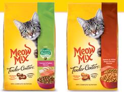 Meow Mix Original Buy One Meow Mix Original Choice 22lb, and Get 3 Wet Cups FREE Coupon