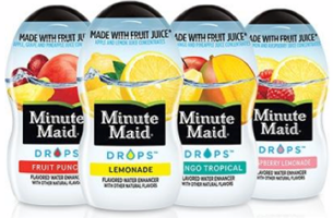 Minute Maid Drops Water Enhancer $1 off Minute Maid Drops Water Enhancer Coupon