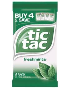Multi Pack of Tic Tac Mints $.75 off Tic Tac Mints Multi Pack Coupon