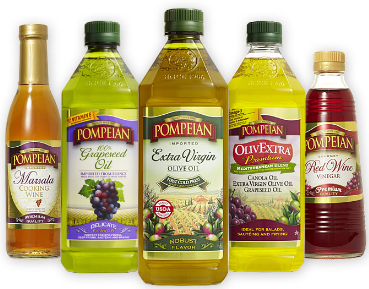 Pompeian Olive Oil 3 NEW Pompeian Product Coupons