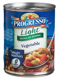 Progresso Light Soup $.50 off 2 Cans of Progresso Light Soup Coupon