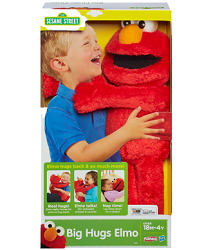 SESAME STREET BIG HUGS ELMO Toy 5 NEW Hasbro and Playskool Toy Coupons