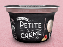 Stonyfield Organic Petite Creme $.75 off 2 Stonyfield Organic Petite Crème Cups Coupon