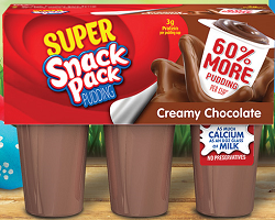 Super Snack Pudding Cups $1 off 2 Super Snack Pack Pudding 6 Packs Coupon