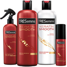 TRESemme 7 Day Keratin Smooth Product 6 Tresemme Products for $0.14 each at Target