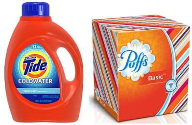 Tide and Puffs Over 100 NEW Coupons have just been released!