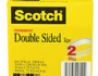 Two-pack of Scotch Double-Sided Tape