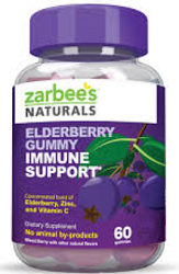 Zarbees Adult Elderberry Gummies $5 off Zarbee's Adult Elderberry Gummies Coupon