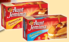 aunt jemima $1 off 2 Packages of Aunt Jemima Frozen Waffles or Pancakes Coupon