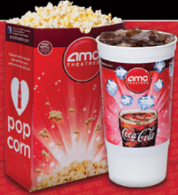 AMC Theatres $1 Large Popcorn at AMC Theatres