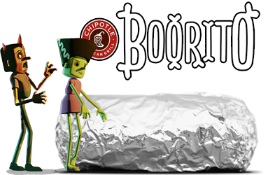 Chipotle boorito Chipotle: Burrito, Bowl, Salad, or Tacos for $3 on 10/31