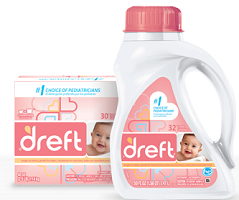 Dreft Laundry Detergent $1.50 off Dreft Detergent Coupon