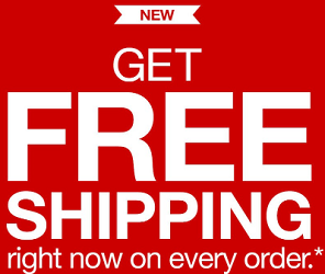 FREE Shipping FREE Shipping on ANY Order at Target.com