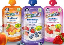 Gerber Graduates Grabbers NEW Gerber Graduates Product Coupons