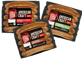 Hillshire Farm American Craft Product Hillshire Farms Americans Craft Sausage for $.65 at Target