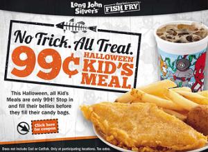 Kids Meal at Long John Silvers 300x219 $.99 Halloween Kid's Meal at Long John Silver's on 10/31