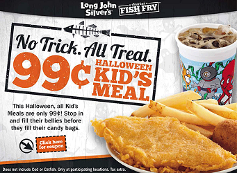 Kids Meal At Long John Silvers
