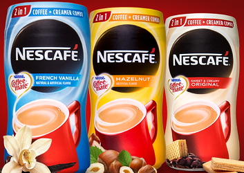 Nescafe with Coffee Mate Coffee $.75 off Nescafe with Coffee Mate Coffee Coupon