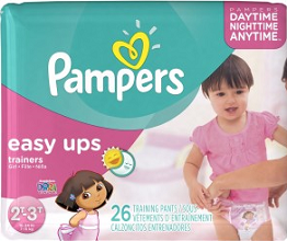 Pampers Easy Up Trainers $1.50 off Pampers Easy Up Trainers Coupon