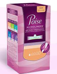 Poise Microliners $1 off Package of Poise Microliners Coupon