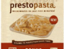 Reames Presto Pasta Frozen Pasta Product