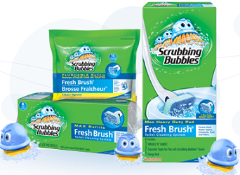 Scrubbing Bubbles Toilet Product $1 off ANY Scrubbing Bubbles Toilet Product Coupon