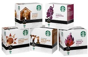 Starbucks Coffee K Cup Packs $2 off Bag of Starbucks Coffee or K Cup Pack Coupon
