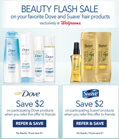 Walgreens: $2 off Dove and Suave Hair Products Coupons - Hunt4Freebies