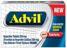 Advil Film Coated 3 NEW Advil Coupons