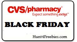 CVS BLACK FRIDAY CVS Black Friday Freebies 11/27 – 11/29
