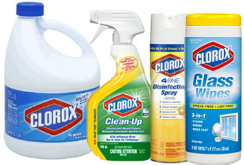Clorox Products $1.25 off ANY (2) Clorox Branded Products Coupon