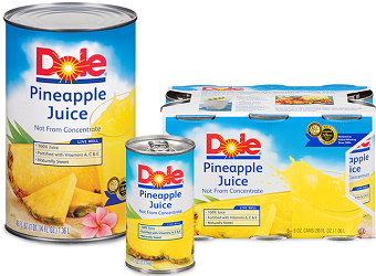 Dole Canned Pineapple Juice $.50 off Dole Canned Pineapple Juice Coupon