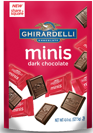Ghirardelli Minis Pouch8 $1 off Ghirardelli Minis Pouch Coupon