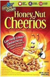Honey Nut Cheerios $1 off 2 Boxes of Cheerios Cereals Coupon