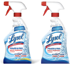 Lysol Power and Free Trigger $1 off Lysol Power and Free Trigger Coupon