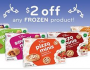 Plum Organics Frozen Kid Product