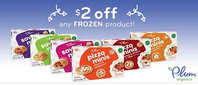 Plum Organics Frozen Kid Product $2 off Plum Organics Frozen Kid Product Coupon