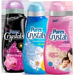 Purex Crystals Fragrance Boosters $3 off (2) Purex Crystals Fragrance Boosters Coupon