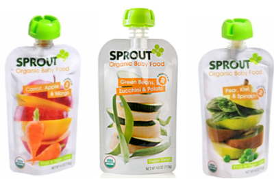 Sprout Organic Baby Food Pouches $2 off 5 Sprout Organic Baby Food Pouches Coupon